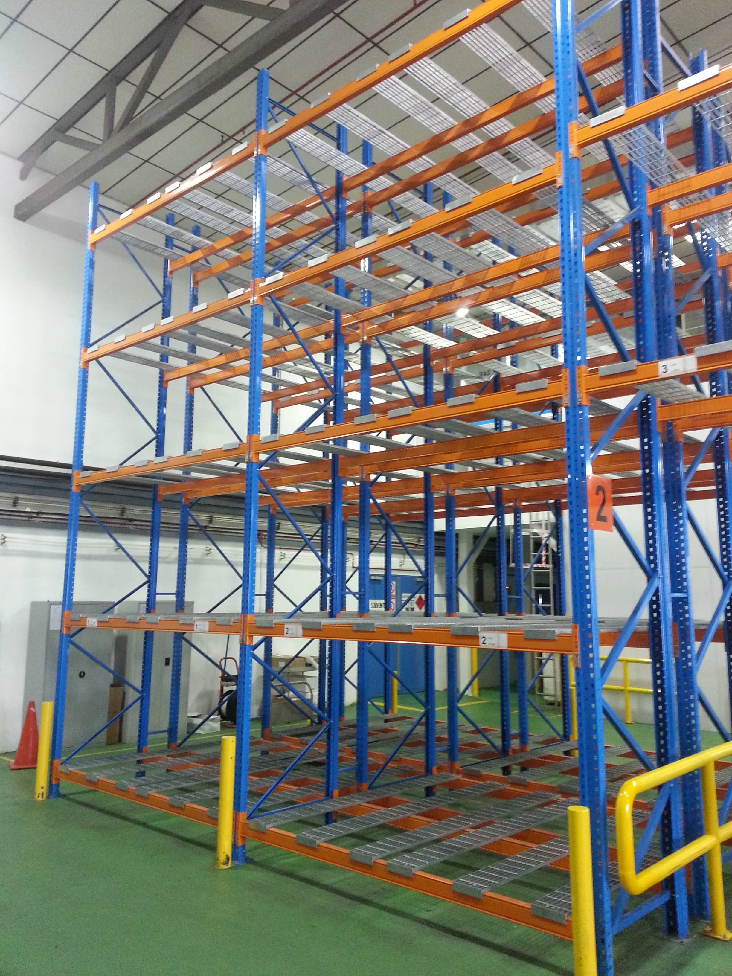 Mezzanine Ladder Storage