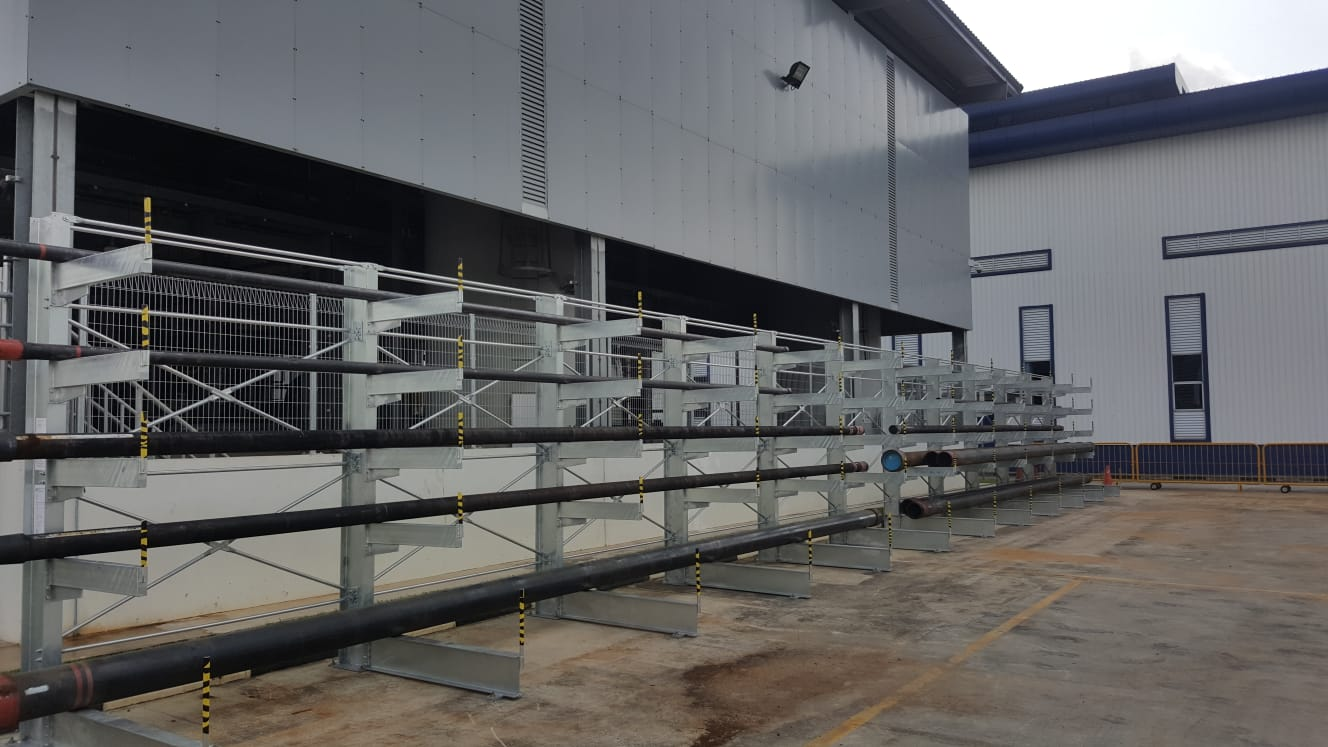 Hot Dipped Galvanized Cantilever-7